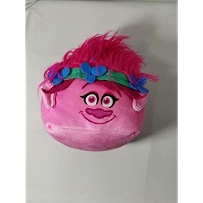 Trolls Poppy Plush Toy Mini Travel Pillow - Cubd Collectibles: Toys & Games