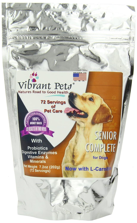 Vibrant Pets Senior Complete, 7.2 Ounce