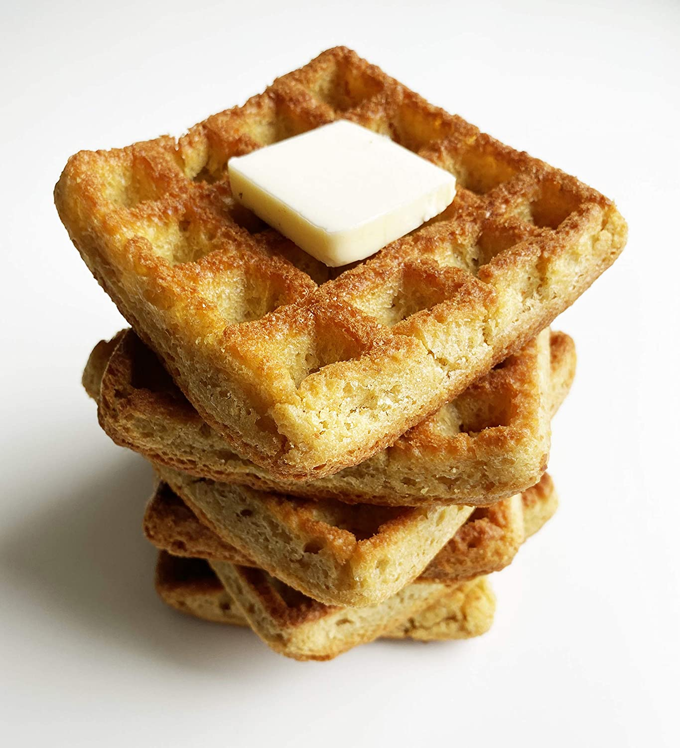 Low Carb Waffle Cakes - Fresh Baked - LC Foods - All Natural - No Sugar - High Protein - Diabetic Friendly - Low Carb Waffles