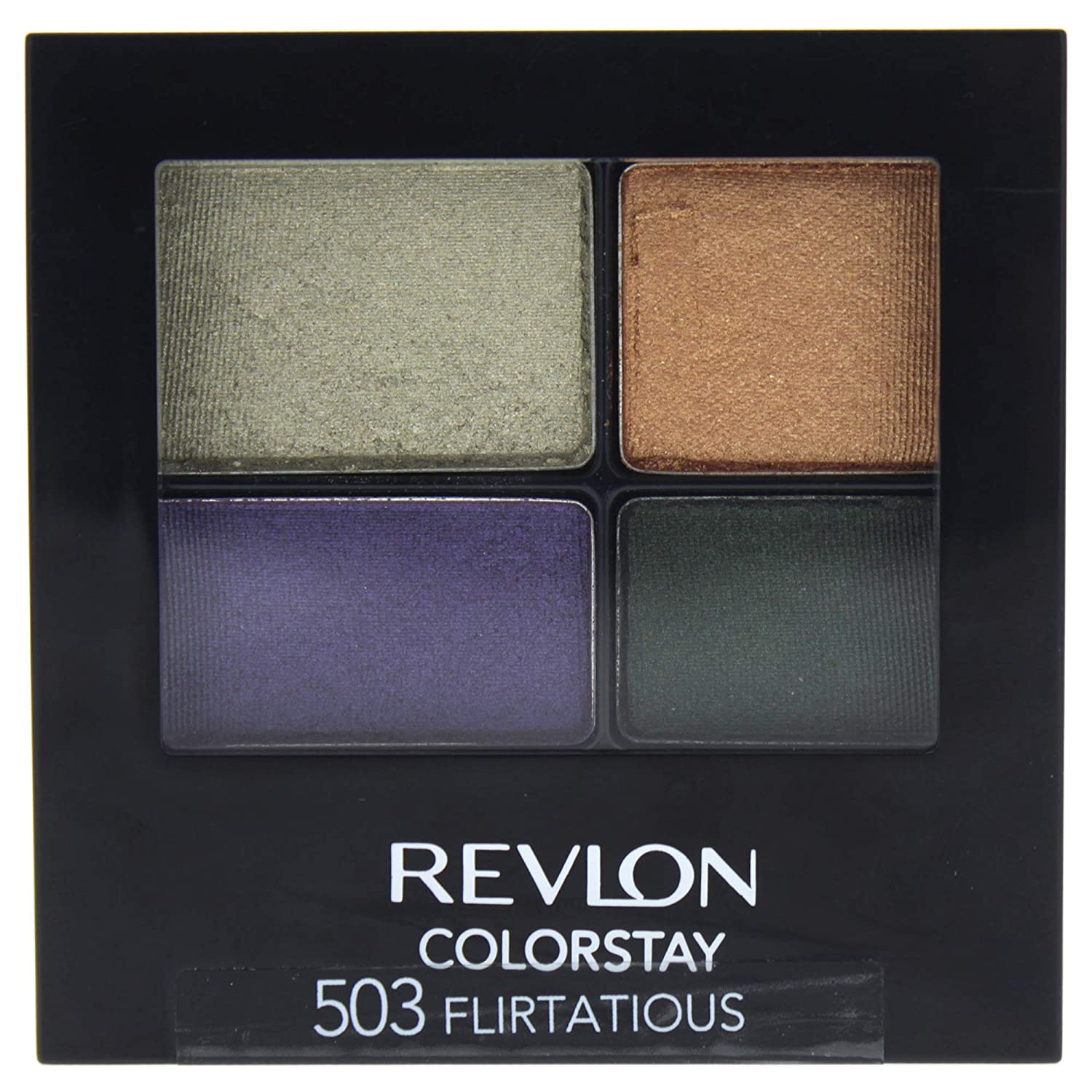 Revlon ColorStay 16 Hour Eye Shadow Quad, Flirtatious
