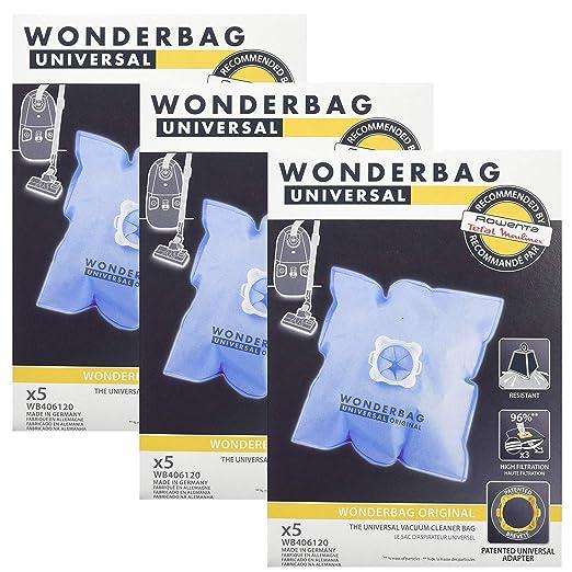 Wonderbag - Bolsas para aspiradora Moulinex (15 unidades ...