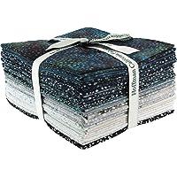 Bali Batiks Bali Dots Zinc 20 Fat Quarter Bundle Hoffman Fabrics 885FQ-618