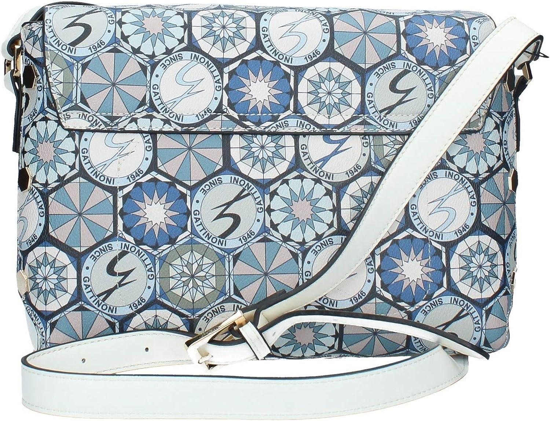 Gattinoni Roma BENTD7632WPG Sac à bandoulière Femme Bleu Blanc