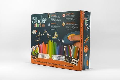 3Doodler Start Essentials - Juego de bolígrafo y plantilla ...