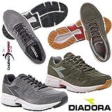 Diadora Scarpa Uomo 172056 5480 6901 Shape 8 S Sneakers Grigio Verde  Running Corsa Palestra d294525ae52