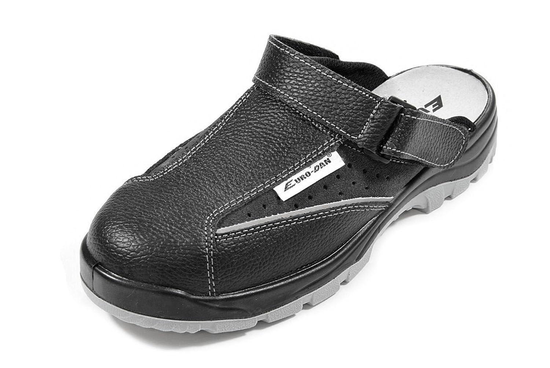 Euro-Dan - Zuecos de piel para hombre negro Schwarz, color negro, talla 42 EU: Amazon.es: Amazon.es