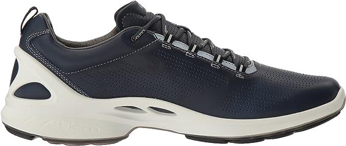 ECCO Biom Fjuel, Chaussures Multisport Outdoor Homme, Bleu
