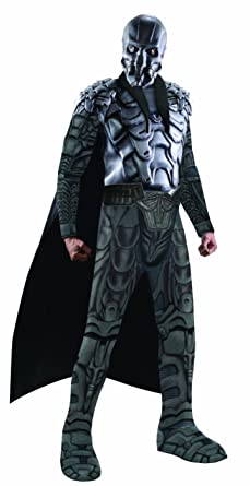 rubies costume superman man of steel deluxe adult muscle chest general zod multi colored
