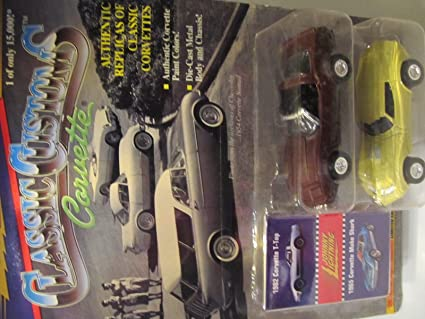 Amazon com: Johnny Lightning Classics Customs Corvettes