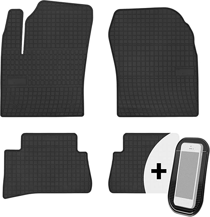 Gummimatten Auto Fußmatten Gummi Automatten Passgenau 4 Teilig Set Passend Für Toyota Chr Ab 2016 Auto