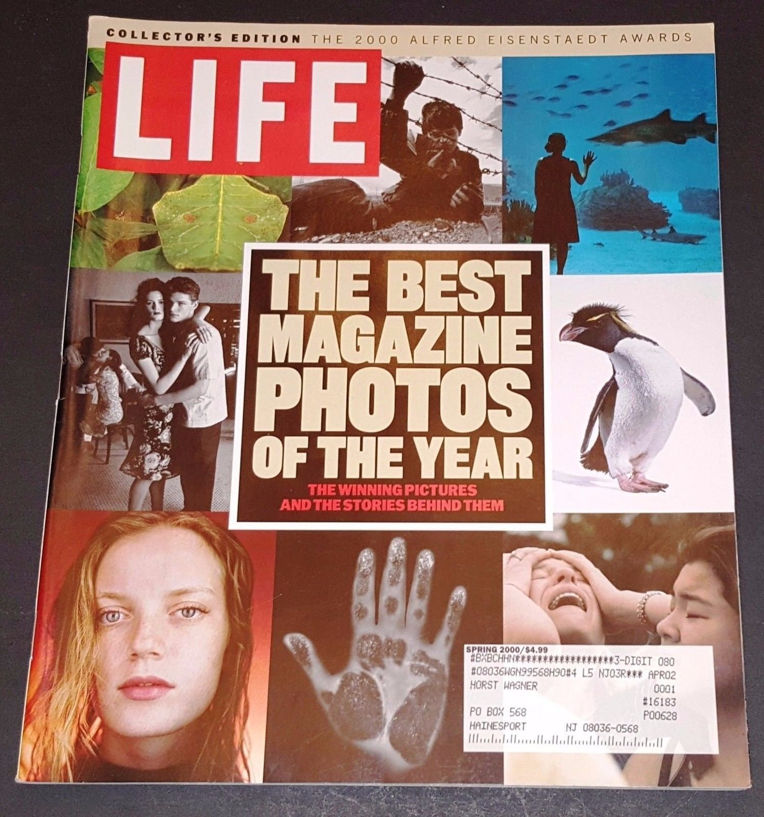 life the best magazine photos of the year the winning pictures and the stories behind them collectors edition the 2000 alfred eisenstaedt awards spring 2000