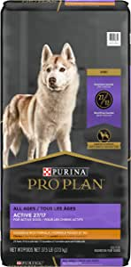 Pro Plan Dry Dog Food, Sport 27/17, Chicken and Rice 17kg Bag