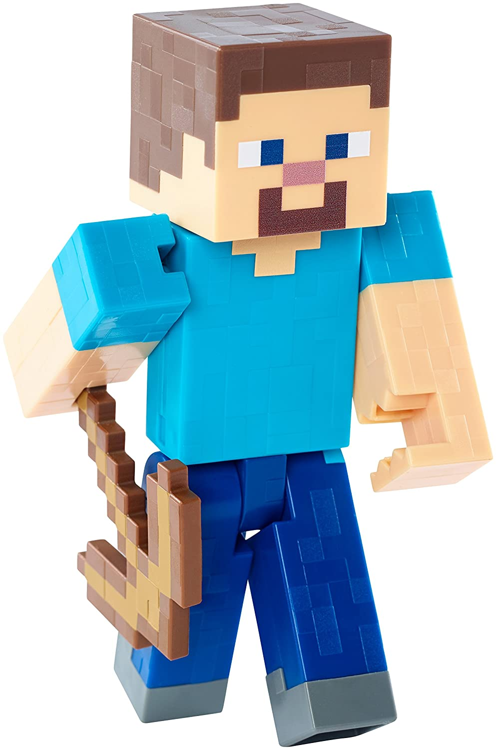 "Amazon.com: Minecraft Steve with Pickaxe 5"" Figure: Toys  for Minecraft Characters Pictures  34eri"