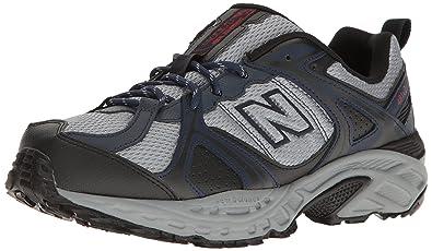 New Balance Men's 481V2 Shoe Trail Runner, Navy/Silver, 7.5 D US ...
