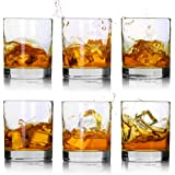 Whiskey Glasses-Premium 11 OZ Scotch Glasses Set of 6 /Old Fashioned Whiskey Glasses/Perfect Idea for Scotch Lovers…