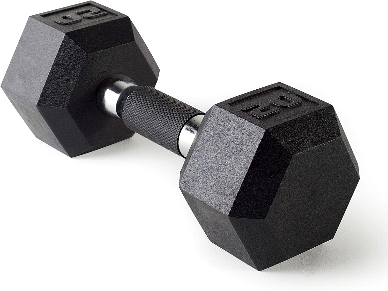 CAP Barbell Coated Dumbbell Weights with Padded Grip