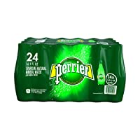 Deals on Perrier Carbonated Mineral Water, 16.9 fl oz. Plastic Bottles (24 Count)