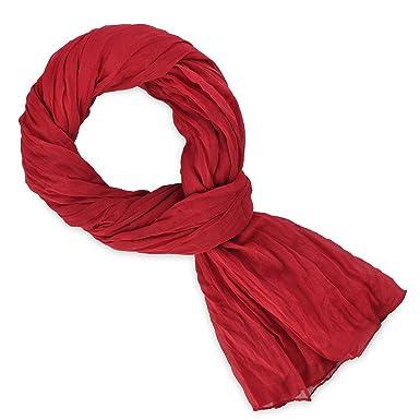 Chèche coton rouge baiser 110 x 200 cm  Amazon.fr  Vêtements et ... 4274cba4a27