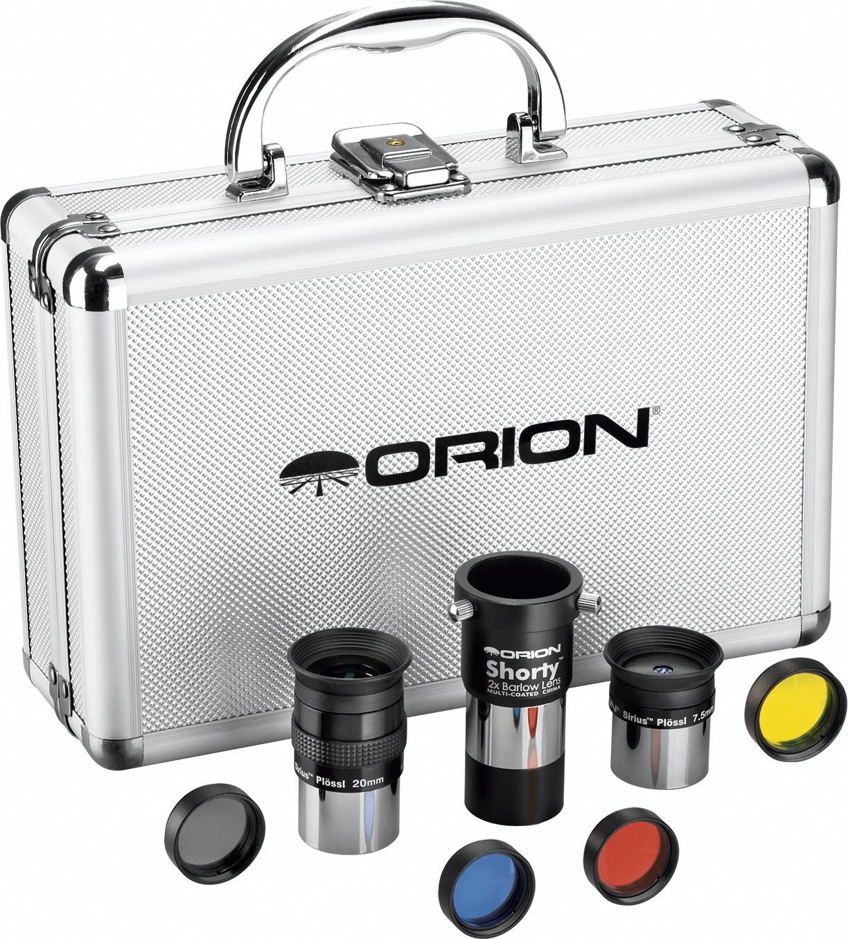 Orion 08889 1.25-Inch Telescope Accessory Kit (silver) Optronic Technologies