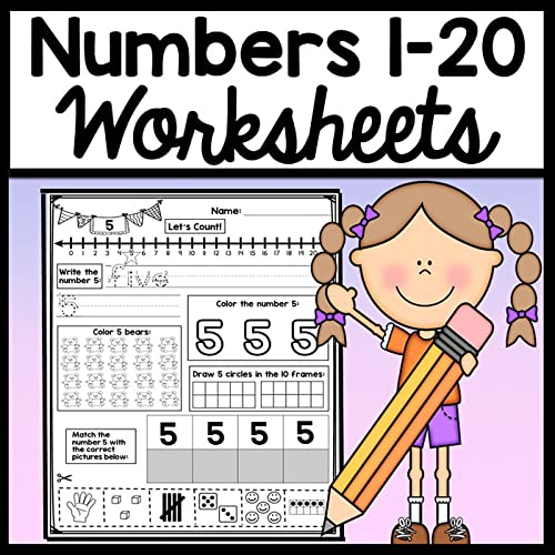 Your Students Will Have Fun Practicing Their Numbers With These Number  Worksheets! Students Use A Variety Of Skills With Each Practice Page.  First, Students Will Read Their Numbers 0-20 Aloud, Then Practice Writing  The Number. Afterward, Students Will Count And