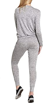 Street Chic Outlet - Chándal - para Mujer Gris Gris M/L: Amazon.es ...