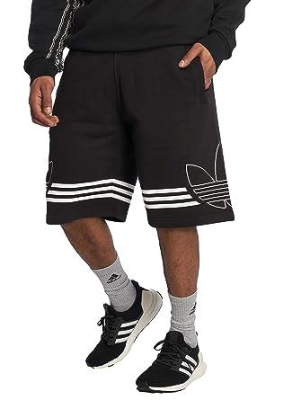 adidas kurze hose herren schwarz weiss