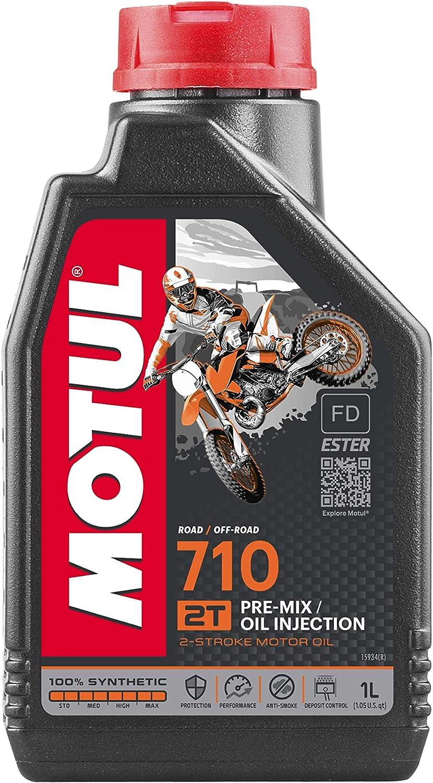 Motul 104034 710 Synthetic Premix Oil 1 Liter