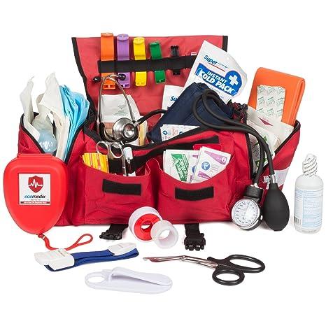 Amazon.com: Eco Medix Kit de primeros auxilios bolsa de ...