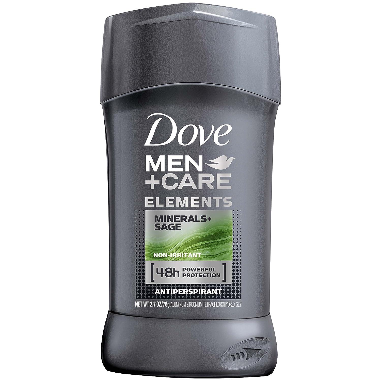 Dove Men+Care Elements Antiperspirant Stick, Minerals + Sage, 2.7 Ounce