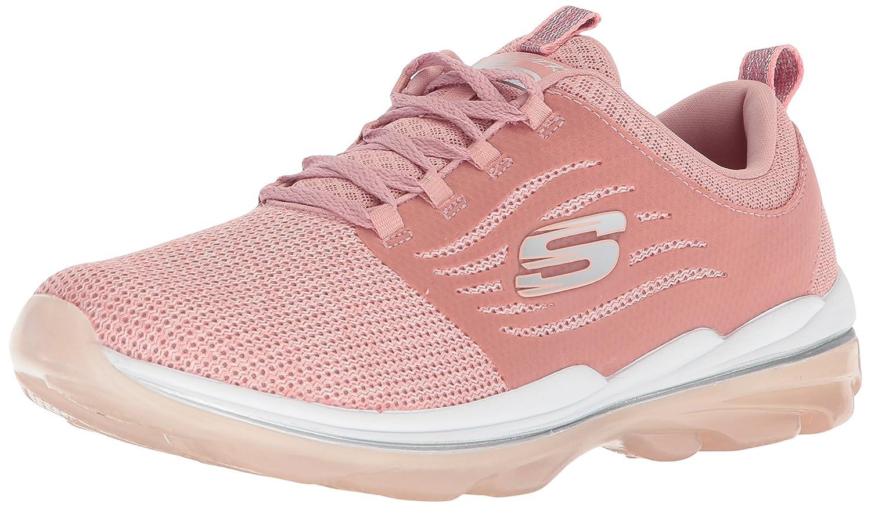 Skechers Women's Skech Air Deluxe Sneaker B074BZ6S43 9 B(M) US|Rose