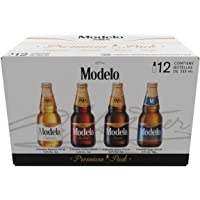 Cerveza Modelo Combo Premium Pack, 12 Botellas de 355ml c/u