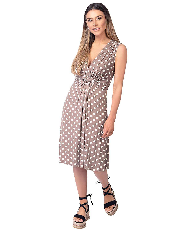 20ee3b321 KRISP Robe Femme Patineuse Courte Chic Imprimé Mode