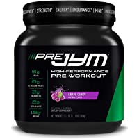 JYM Supplement Science Pre Jym, Grape Candy, 1.1 Pound (20 Servings)