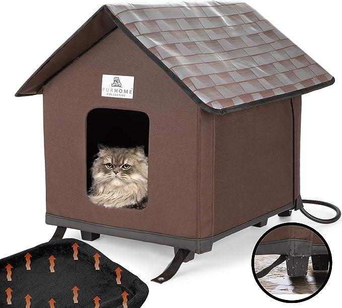 Amazon.com: Casas de gato climatizadas para gatos de ...