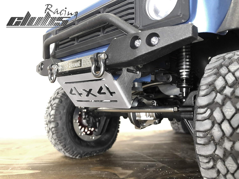 Steel Front/&Rear Skid Plate Servo Guard for Redcat GEN8 2pcs