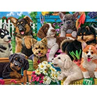 Buffalo Games - Funny Puppies - 750 Piece Jigsaw Puzzle