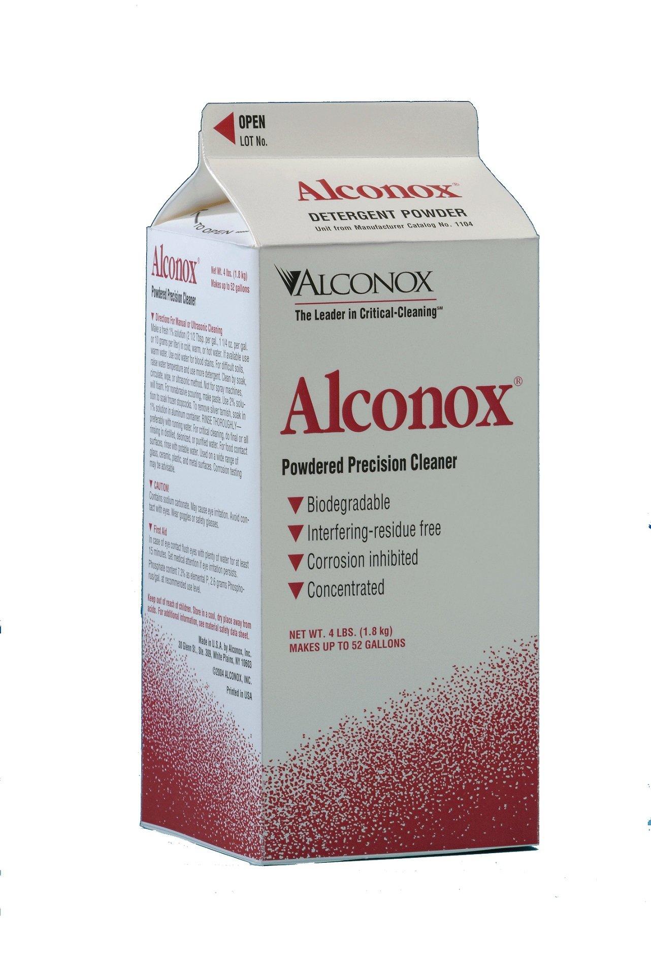 Alconox Powder Labware Detergent, 4 lbs Box by Alconox