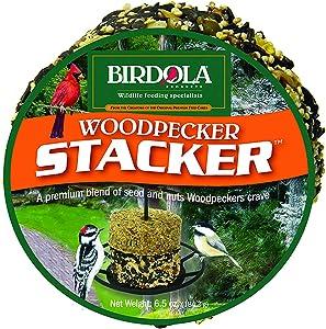 Birdola 54611 6.5Oz Woodpecker Seed Cake