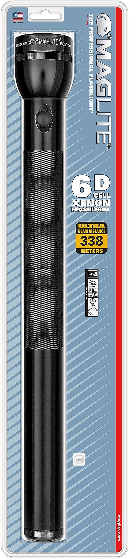 FORUM - Linterna 6D-Cell 49,5Cm Schw. Maglite