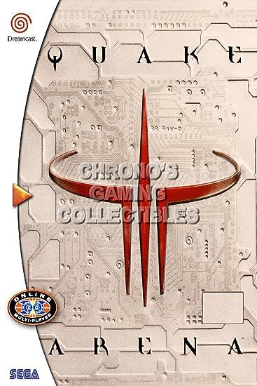Amazon.de: CGC Große Poster - Quake III arena- Sega Dreamcast DC ...