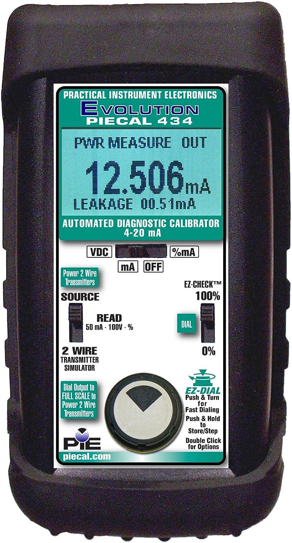 Image of Calibration PIECAL 434 Automated Loop Calibrator with Diagnostics, 4-20 mA