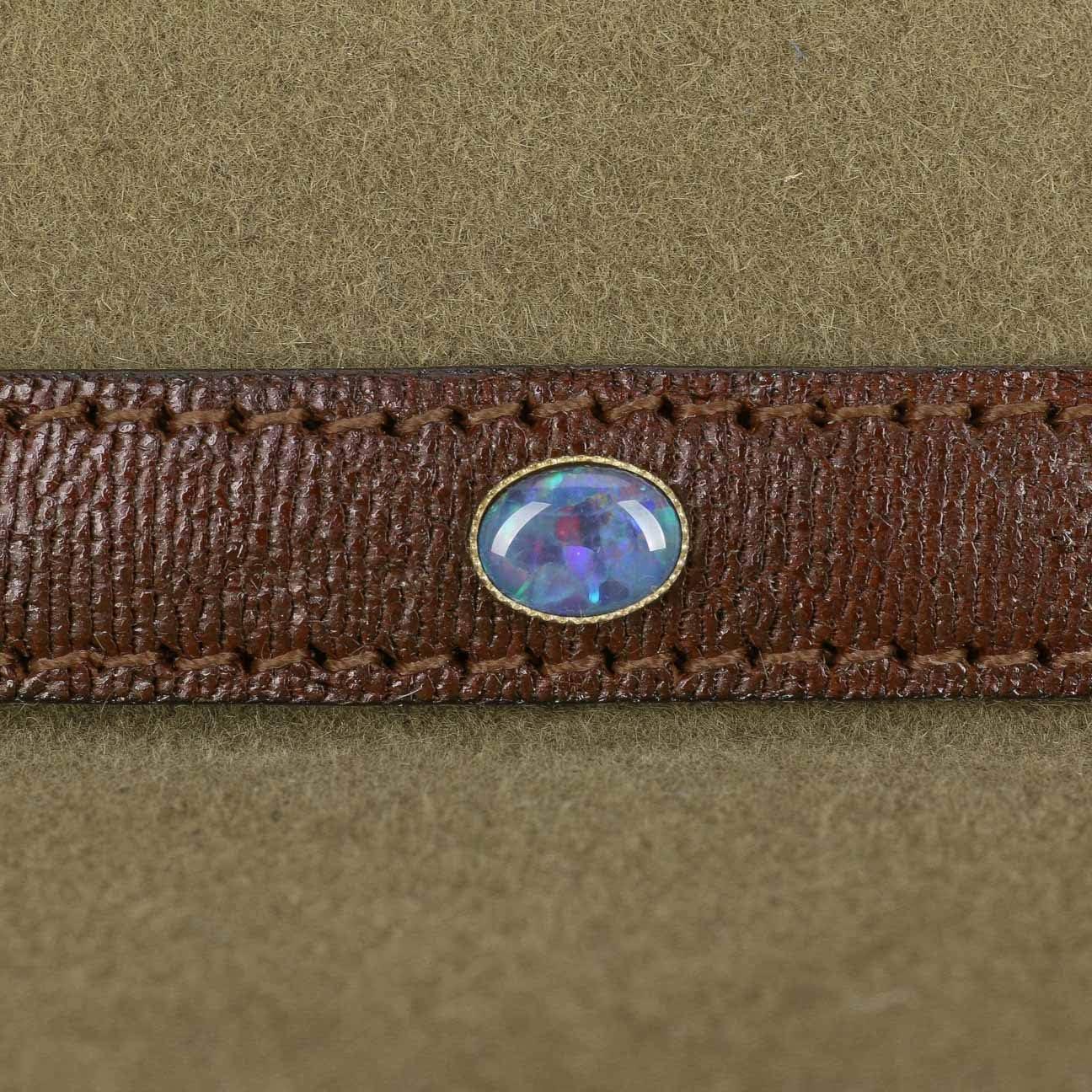 Akubra Coober Pedy Filzhut mit Opal aus Australien Sand