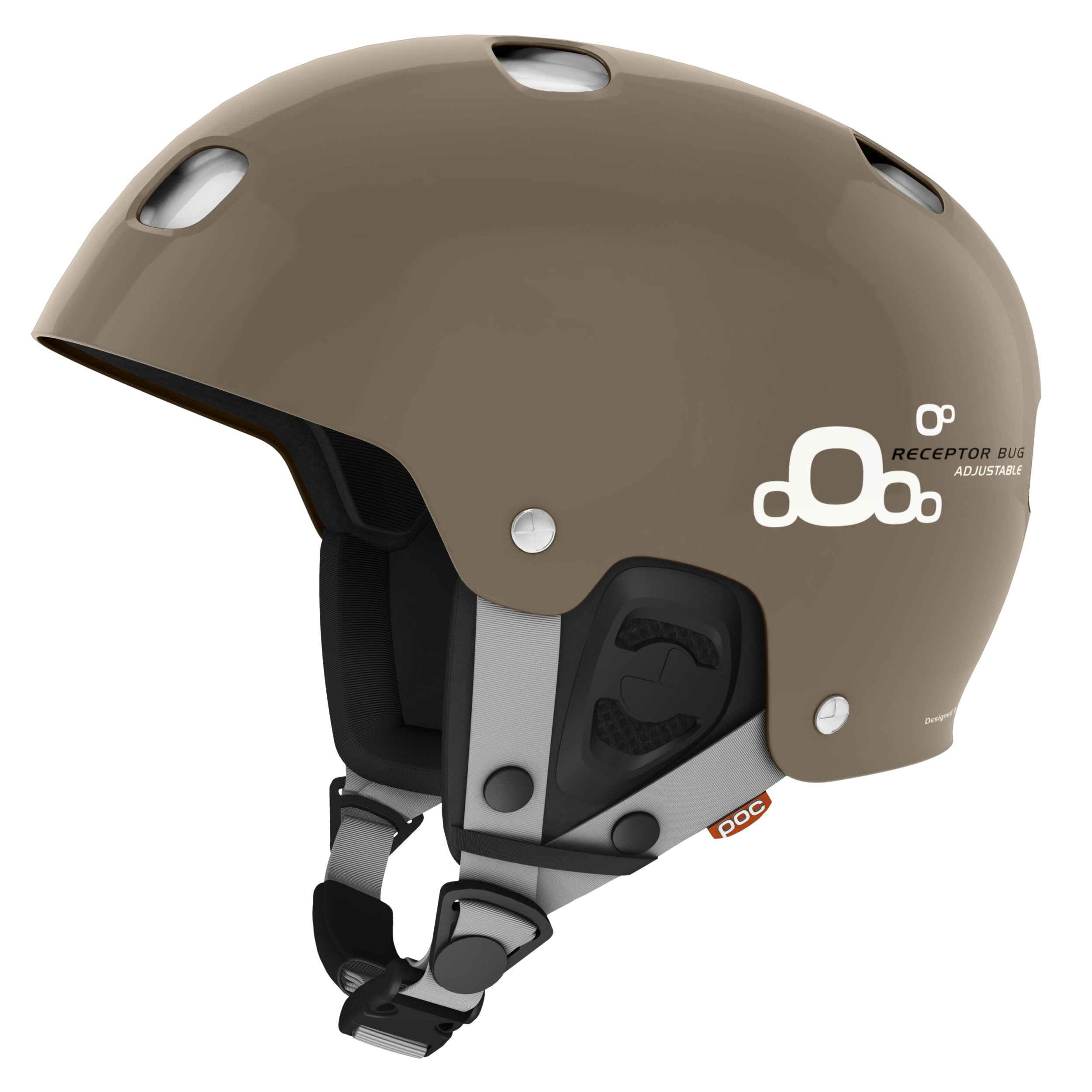 POC Receptor BUG Adjustable 2.0 Snow Helmet - Calcite Beige X-Large/XX-Large by POC