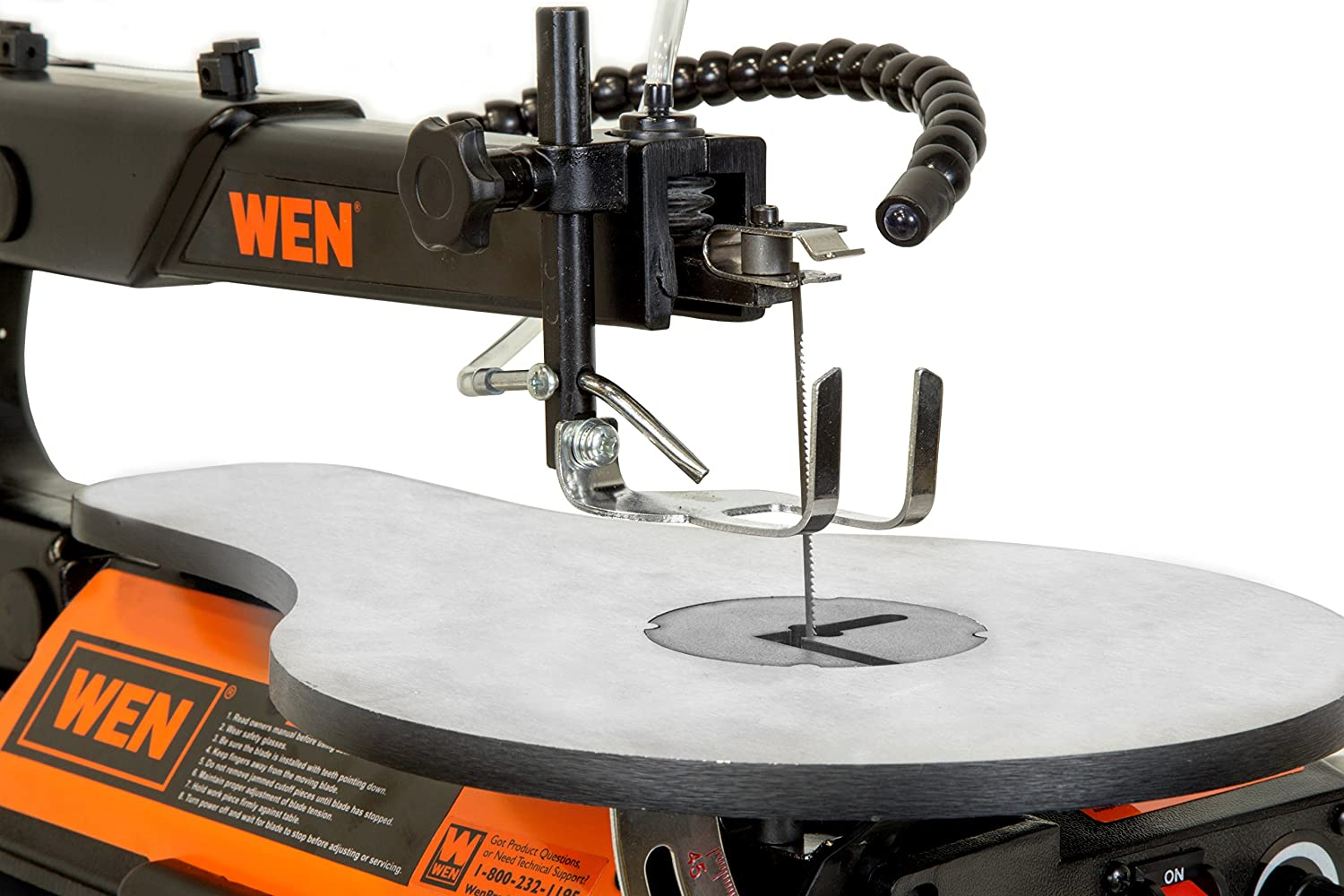 WEN 3921 Two-Direction Scroll - Best Saw for Cutting Shapes Out Of Wood