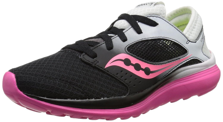 Saucony Women's Kineta Relay Running Shoe B00YBIGPRO 5 B(M) US|White/Black/Pink