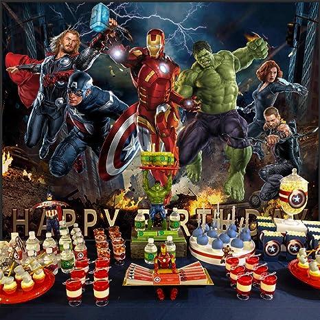 Telón de Fondo de Los Vengadores, Tema de superhéroe ...