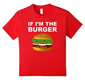Kids Couples Matching Shirts If I'm The Burger Valentines Day 12 Red