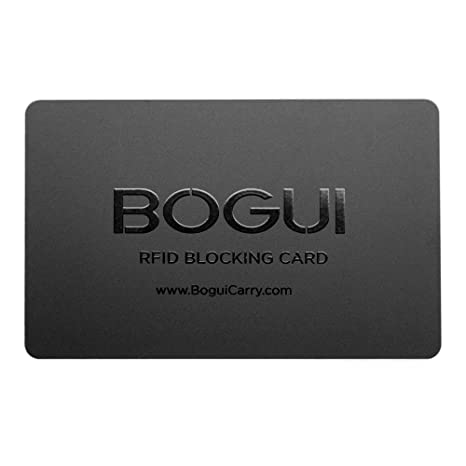 b30fbc13d5c9 KeySmart RFID-Blocking Card, Credit Card Theft Protection (1 Pack, Black)