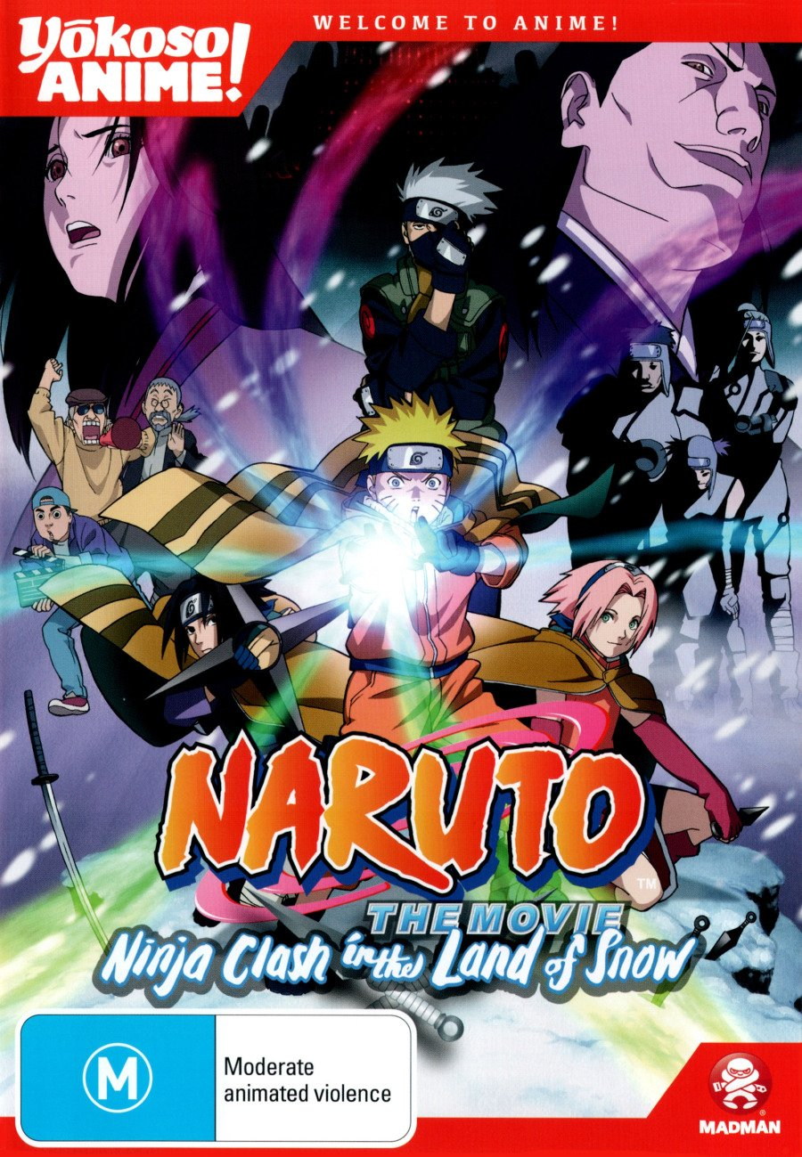 Naruto The Movie - Ninja Clash In The Land Of Snow! Edizione ...