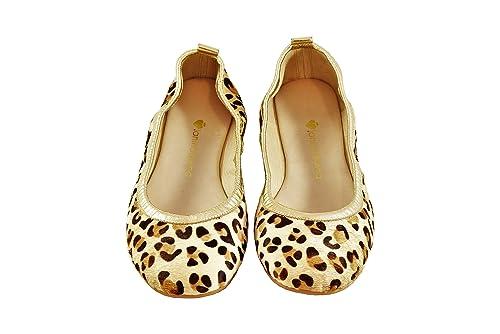LANINADIVINA Bailarina Leopardo  Amazon.es  Zapatos y complementos b5824125c1a34